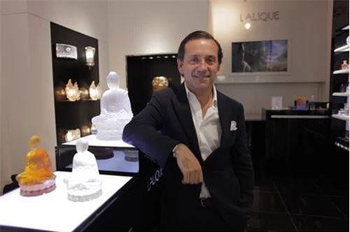 Ông Jean-Baptiste De Jaham, Giám đốc kinh doanh toàn cầu, thương hiệu Lalique.