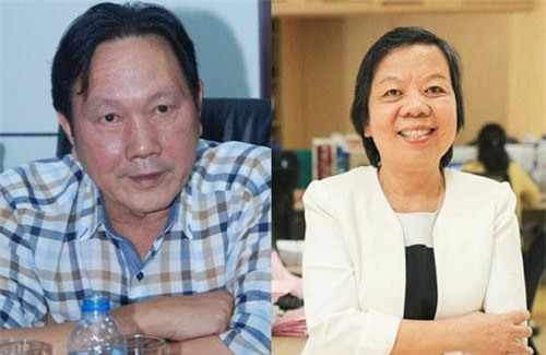 Ông Dương Ngọc Minh và bà Trương Thị Lệ Khanh