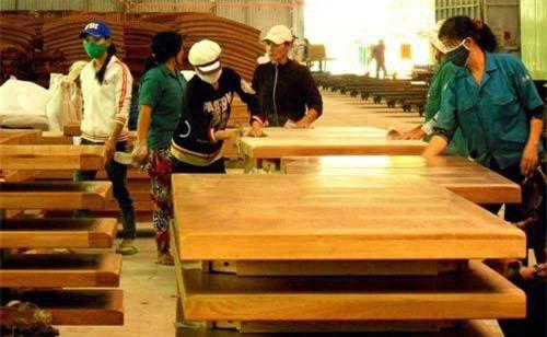 Sản xuất đồ gỗ xuất khẩu tại Bình Định.