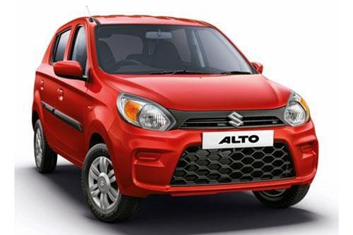 Maruti Suzuki Alto (doanh số: 126.519 chiếc).