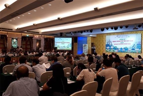 Tuần lễ Năng lượng tái tạo Việt Nam 2019 khai mạc vào sáng 17/9 tại Hà Nội.