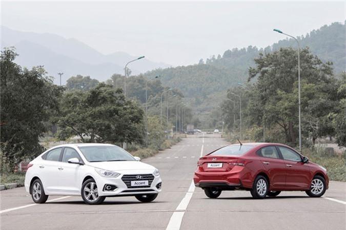 Hyundai Accent. (Ảnh: TC Motor)