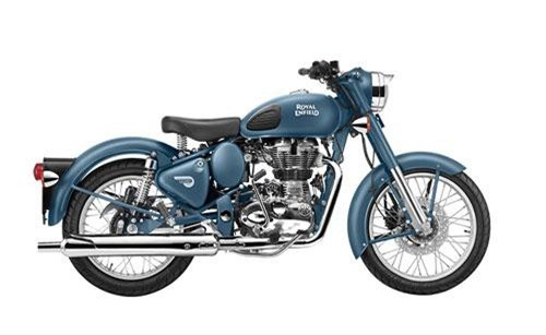 Royal Enfield Classic 500.