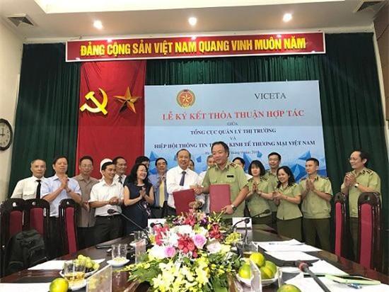 Lãnh đạo hai đơn vị Ký kết Thoả thuận Hợp tác