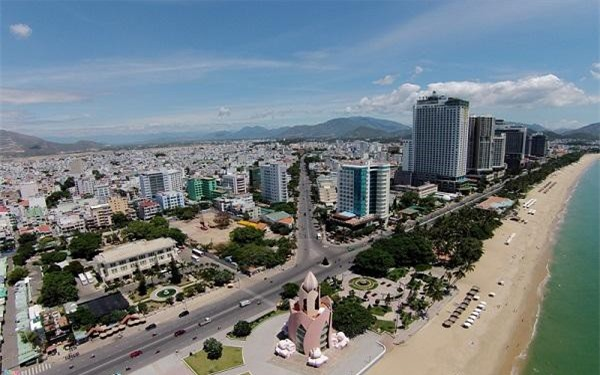 Một góc TP. Nha Trang nơi tập trung nhiều dự án BĐS nghỉ dưỡng nhất cả nước. (Ảnh: NĐT)