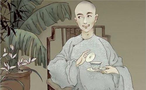 Dung mạo thời trẻ của Hòa Thân. Ảnh: Baidu