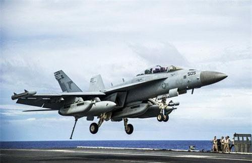 Chiến đấu cơ hai chỗ ngồi Boeing EA-18G Growler là một phiên bản tác chiến điện tử sử dụng trên tàu sân bay được phát triển từ tiêm kích hạm F/A-18F Super Hornet