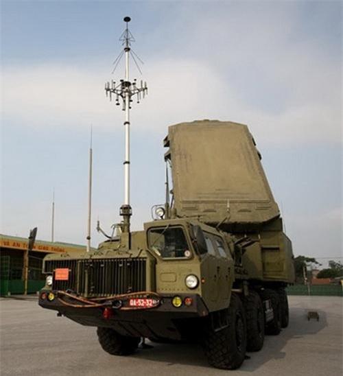 Đài radar điều khiển hỏa lực 30N6E2 của tổ hợp S-300PMU-1 Việt Nam. Ảnh: Quân đội nhân dân.