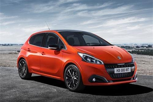 6. Peugeot 208 (doanh số: 150.496 chiếc).