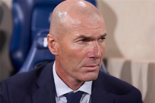 Zidane đang gặp khó ở Real.