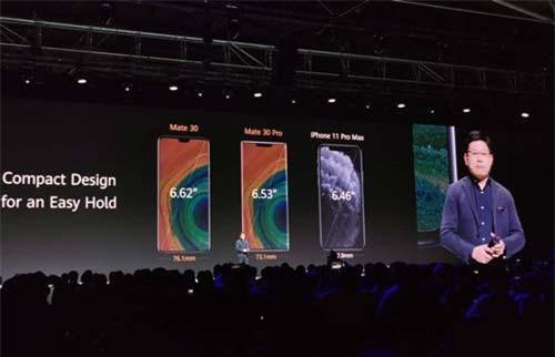 Huawei ra mắt Mate 30/30 Pro