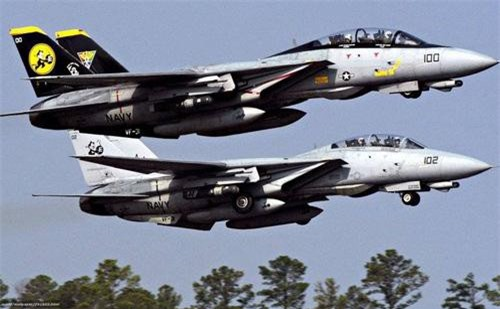 Tiêm kích đánh chặn F-14D Tomcat của Hoa Kỳ. (Ảnh: Military Watch Magazine)