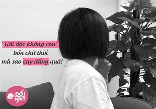 Chị Nhi (31 tuổi, TP.HCM) tâm sự về nỗi lòng đang đau đáu.