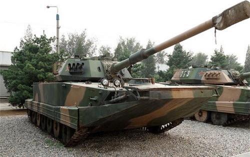 Xe tăng lội nước Type 63A của Hải quân Trung Quốc. Ảnh: Military Today.