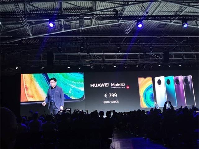 Huawei ra mắt Mate 30/30 Pro, cụm 4 camera, giá từ 20 triệu đồng - 10