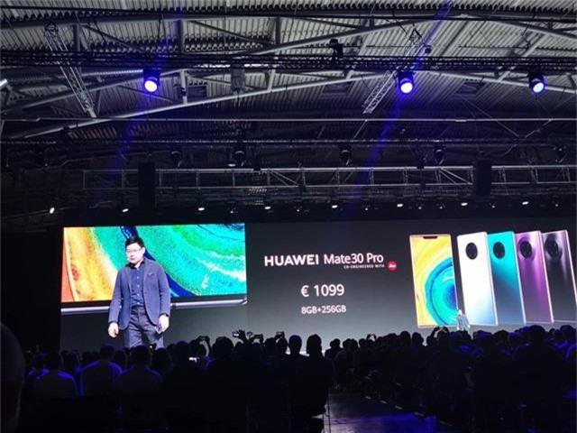 Huawei ra mắt Mate 30/30 Pro, cụm 4 camera, giá từ 20 triệu đồng - 11