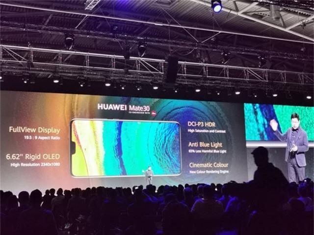 Huawei ra mắt Mate 30/30 Pro, cụm 4 camera, giá từ 20 triệu đồng - 2