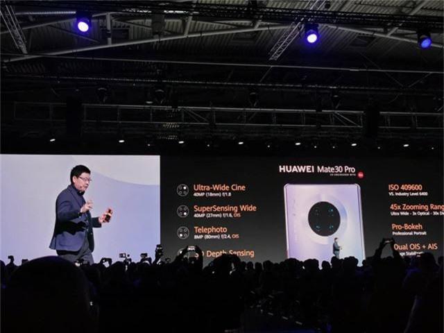 Huawei ra mắt Mate 30/30 Pro, cụm 4 camera, giá từ 20 triệu đồng - 6