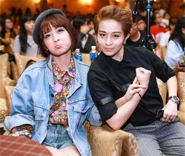 Không chỉ Hoàng Thùy Linh, hoa hậu, MC VTV cũng bị nghi yêu đồng giới - Ảnh 11.