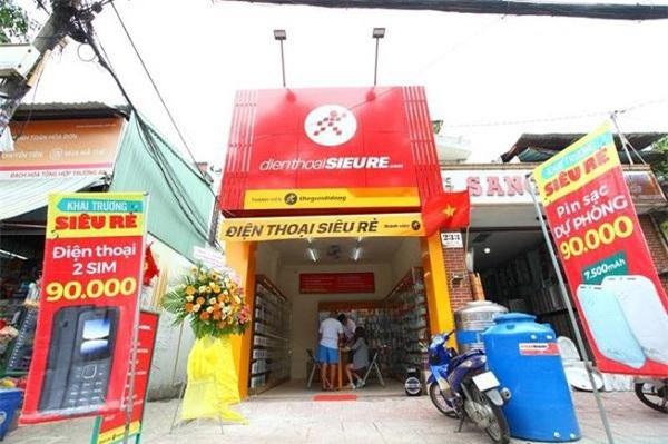 Cửa hàng Điện Thoại Siêu Rẻ của MWG (Nguồn: Pháp luật TP HCM)
