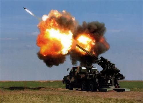 Pháo tự hành SH-1 bắn đạn tăng tầm lắp động cơ rocket. Ảnh: Military Today.