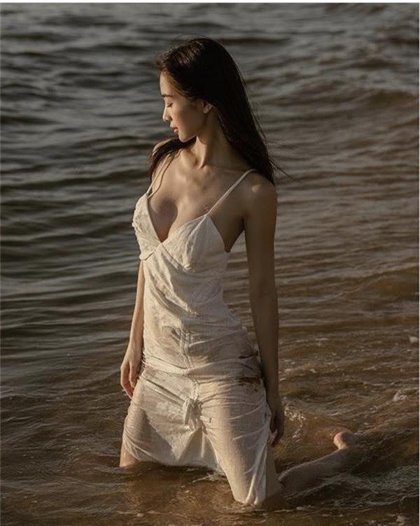 Jun Vũ và những 'cô bé trà sữa' lấn sân nghệ thuật, ngày càng gợi cảm - ảnh 3