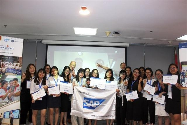 Vòng chung kết cuộc thi Khám phá Khoa học dữ liệu ASEAN 2019 diễn ra tại cơ sở Hà Nội, Đại học RMIT Việt Nam.