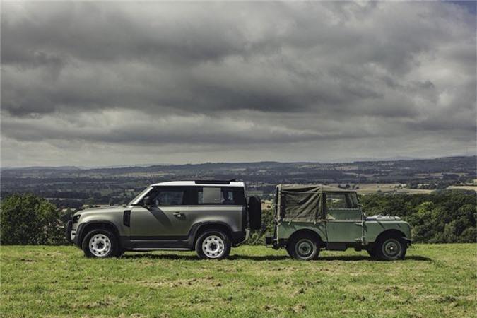 Ra mat SUV Land Rover Defender 2020 tu 49.900 USD-Hinh-2