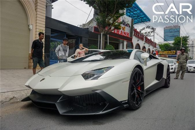 Sieu xe Lamborghini Aventador 50th Anniversario Nam tien-Hinh-2
