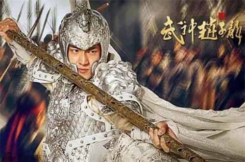 Tạo hình Triệu Vân trên phim.