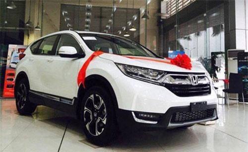 Khách mua Honda CR-V trong tháng 9/2019 nhận được ưu đãi gần 10 triệu đồng