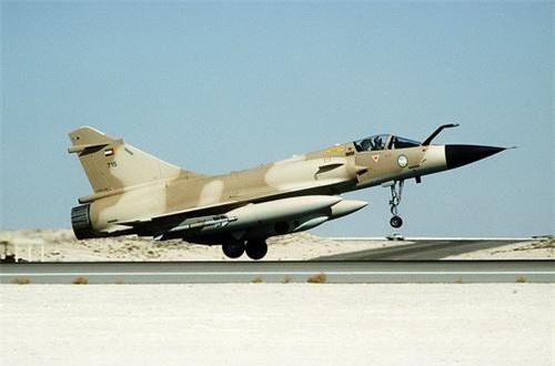 Tiêm kích Mirage 2000-9 của Không quân UAE. Ảnh: Defence Blog.