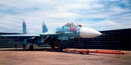 Tiêm kích Su-27SK của Không quân Việt Nam. Ảnh: Quân đội nhân dân.