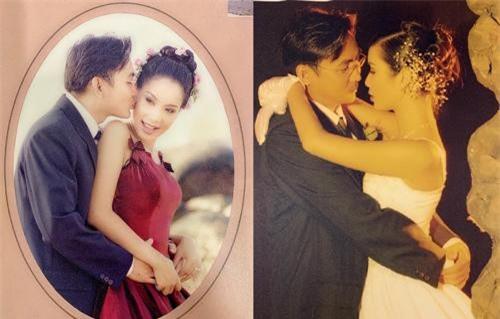 Ảnh cưới của Trịnh Kim Chi và chồng doanh nhân.