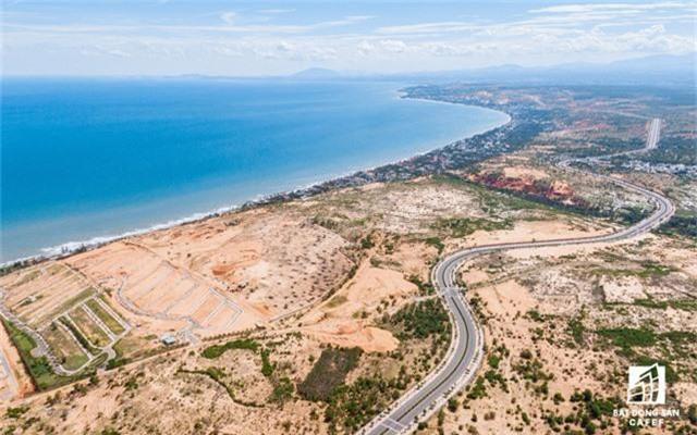 Dòng vốn 450.000 tỷ đồng đổ bộ vào Bình Thuận, hàng loạt dự án bất động sản tỷ USD xuất hiện - Ảnh 1.