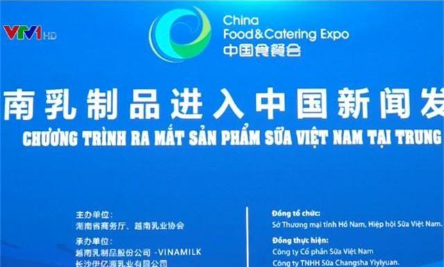 Đưa sữa Việt Nam đến với thị trường Trung Quốc - Ảnh 2.