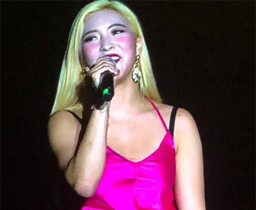 Đây có lẽ là những hình ảnh Luna không bao giờ muốn nhìn lại trong suốt sự nghiệp làm ca sĩ