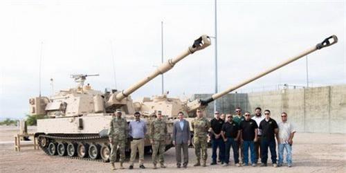 Nguyên mẫu pháo tự hành thế hệ mới thuộc chương trình ERCA của Lục quân Mỹ. Ảnh: National Interest.