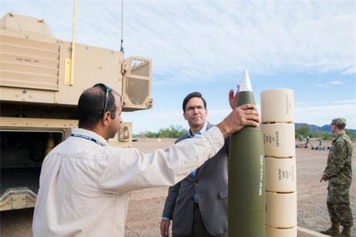 Thử nghiệm đạn pháo dẫn đường thế hệ mới cho pháo tự hành M109A8. Ảnh: National Interest.