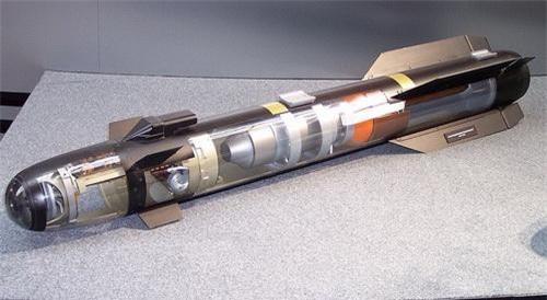 Tên lửa chống tăng AGM-114 Hellfire. Ảnh: Wikipedia.