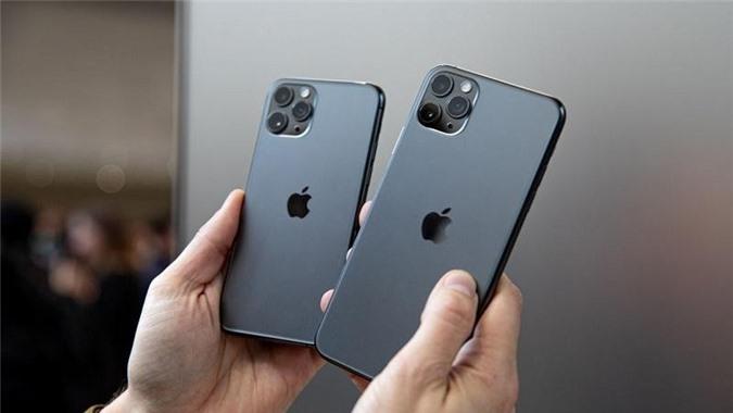 Bộ đôi iphone 11 pro và iphone 11 pro max