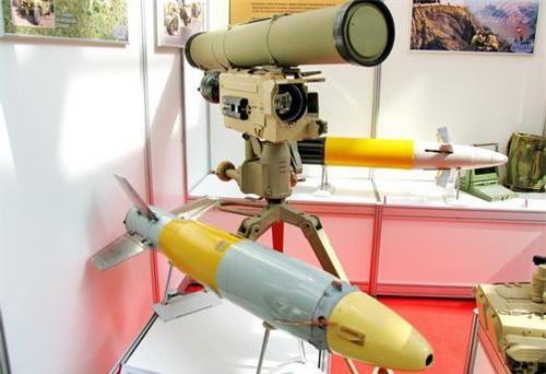 Tên lửa chống tăng có điều khiển 9M133 Kornet. Ảnh: Wikipedia.