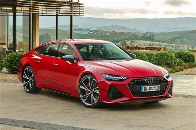 Kham pha Audi RS7 Sportback 2020: Thiet ke the thao, cong suat 591 ma luc hinh anh 1