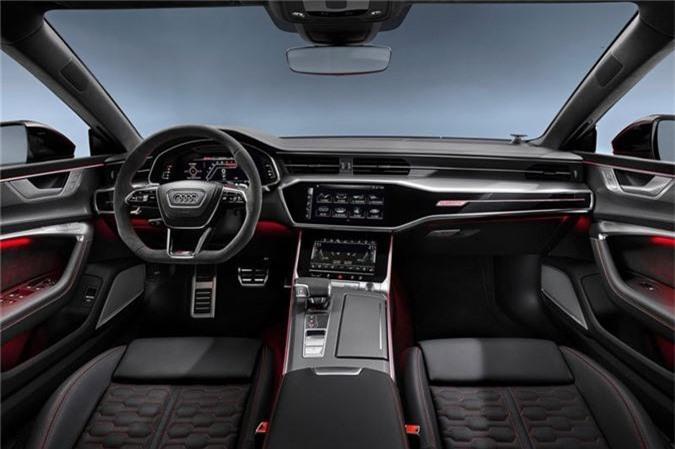 Kham pha Audi RS7 Sportback 2020: Thiet ke the thao, cong suat 591 ma luc hinh anh 3