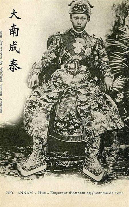 Vua Thành Thái.