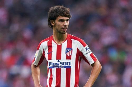 1. Joao Felix (Atletico Madrid, giá trị hiện tại: 89,3 triệu bảng, tăng 78,6 triệu bảng).