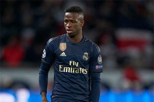 5. Vinicius Junior (Real Madrid, giá trị hiện tại: 62,5 triệu bảng, tăng 31,3 triệu bảng).