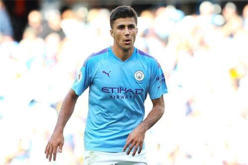 9. Rodri (Man City, giá trị hiện tại: 71,5 triệu bảng, tăng 26,8 triệu bảng).