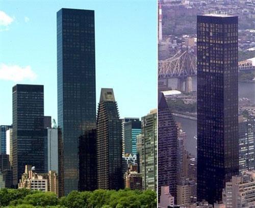 Đây là tòa nhà dân sinh cao nhất thế giới, nằm đối diện trụ sở Liên Hợp Quốc, được xây dựng từ năm 1999 - 2001. Được biết, căn penthouse rộng gần 1.400 m2 này gồm 34 phòng trong đó có 12 phòng ngủ và 16 phòng tắm.