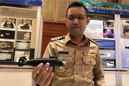 Đại úy Sattaya Chantharaprapa - Chủ nhiệm dự án tàu ngầm nội địa của Hải quân Hoàng gia Thái Lan. Ảnh: Thai Armed Force/